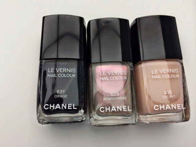 Esmaltes Chanel Inverno 2014: Orage, Atmosphere e Secret
