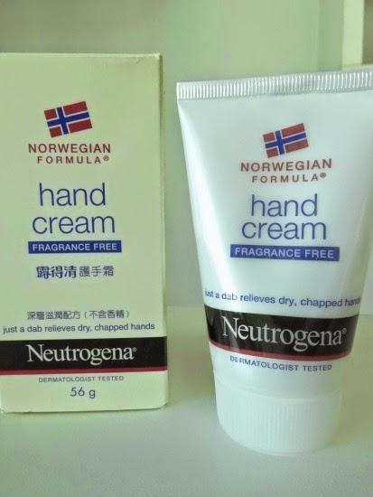 Creme para mãos Norwegian da Neutrogena