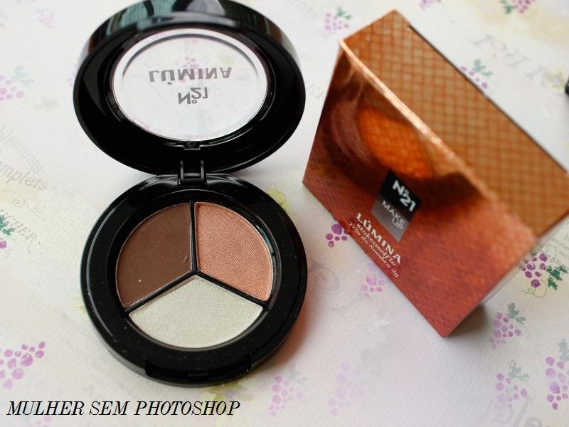 Maquiagem Lúmina - Nº21 - trio de sombras