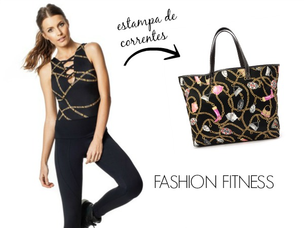 Body Fitness estampado - Vestem