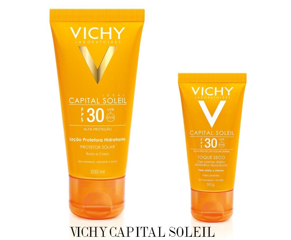 Vichy Capital Soleil para o corpo