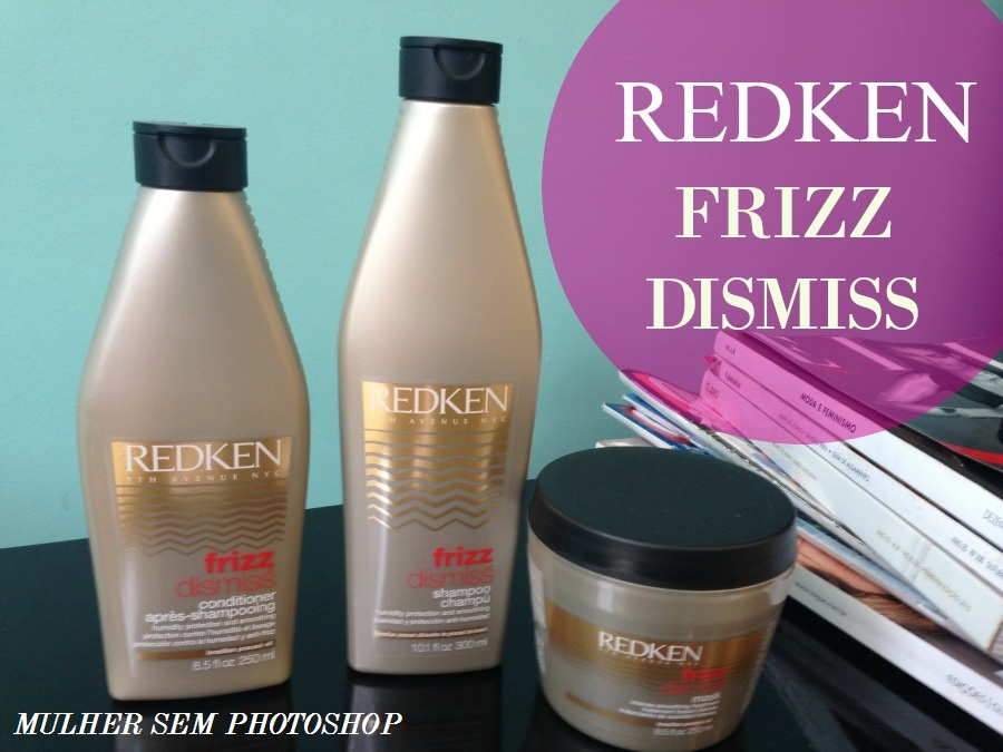 Redken Frizz Dismiss - resenha