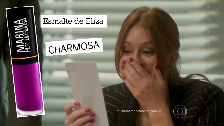 Esmalte vinho da Eliza em Totalmente Demais