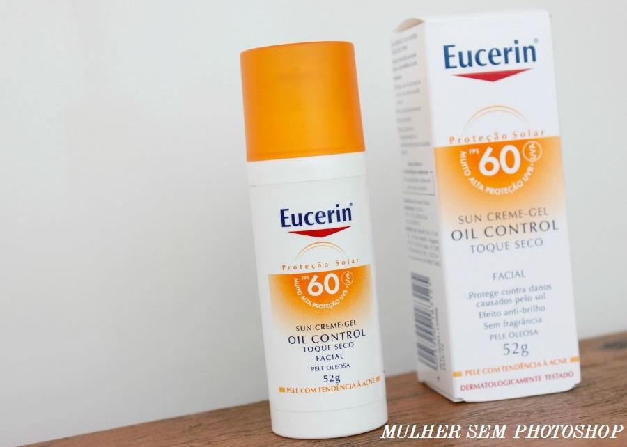 Eucerin Sun Creme-Gel - protetor solar para pele oleosa