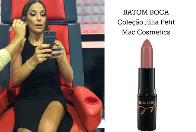 batom nude Ivete Sangalo The Voice Kids