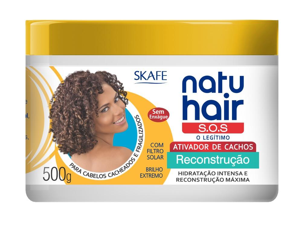 Natu Hair Ativador de Cachos