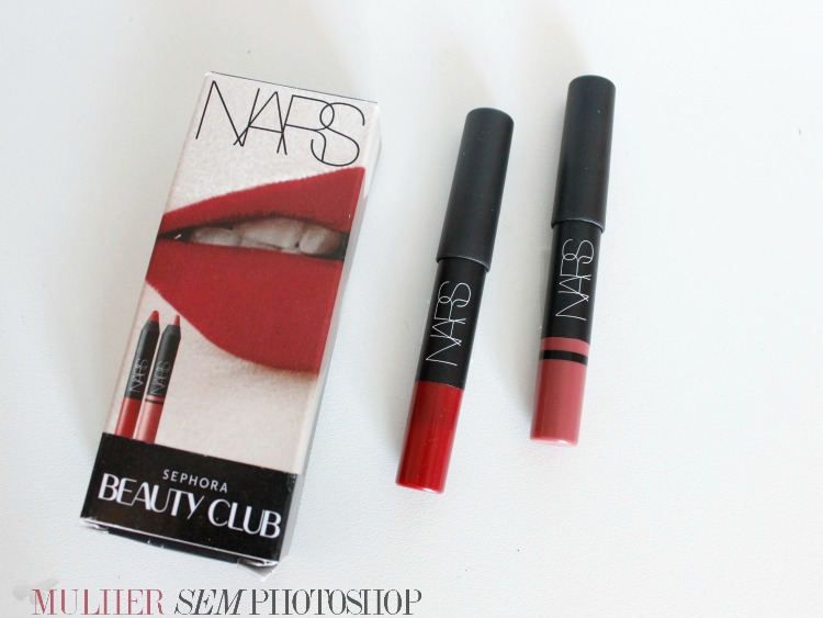 Cruella e Rikugien da Nars - presente do Beauty Club da Sephora