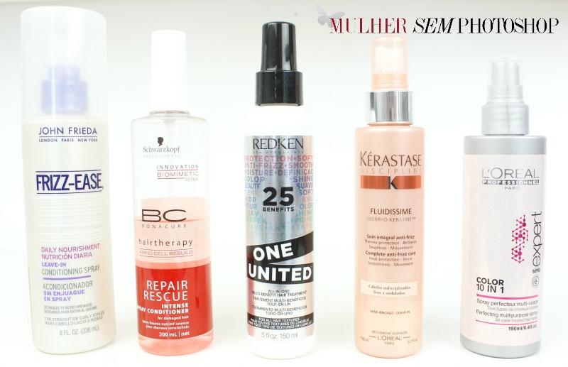 5 sprays para cabelo - resenha