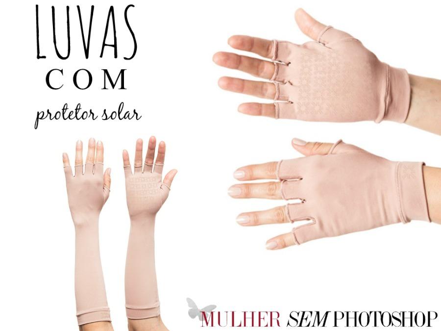 Protetor solar para mãos