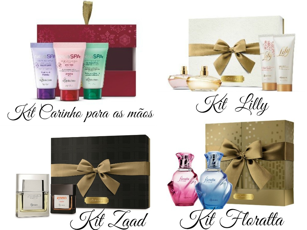 Kits de Natal O Boticário