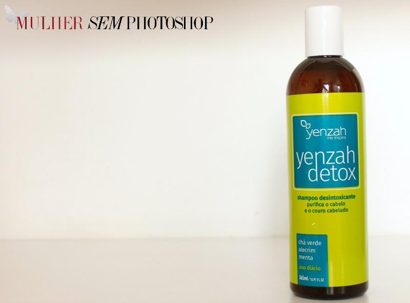 Yenzah Detox Shampoo desintoxicante - resenha