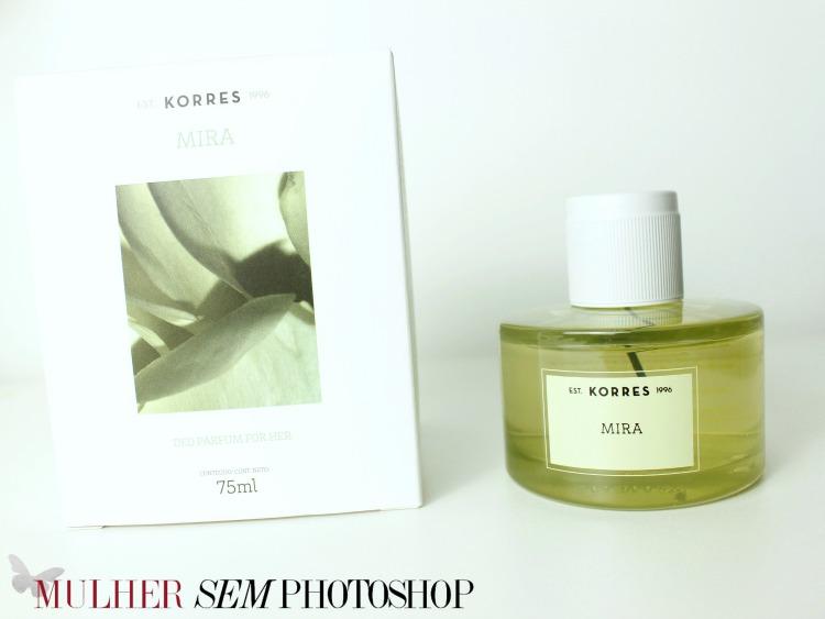 Mira Deo Parfum Korres - resenha