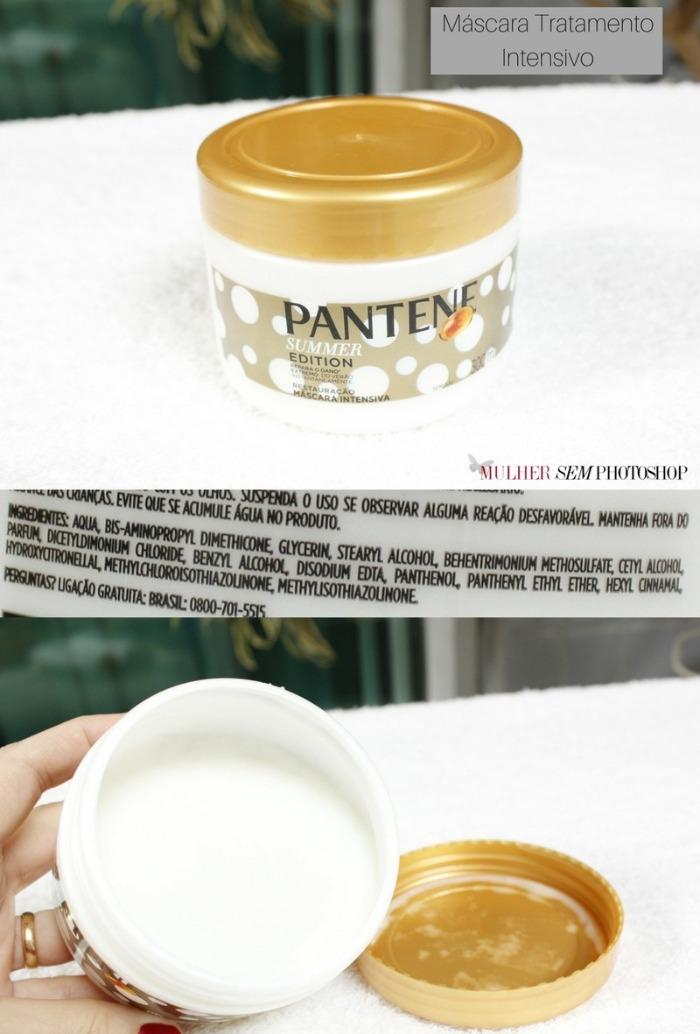 Máscara de tratamento intensivo Pantene Summer Edition resenha