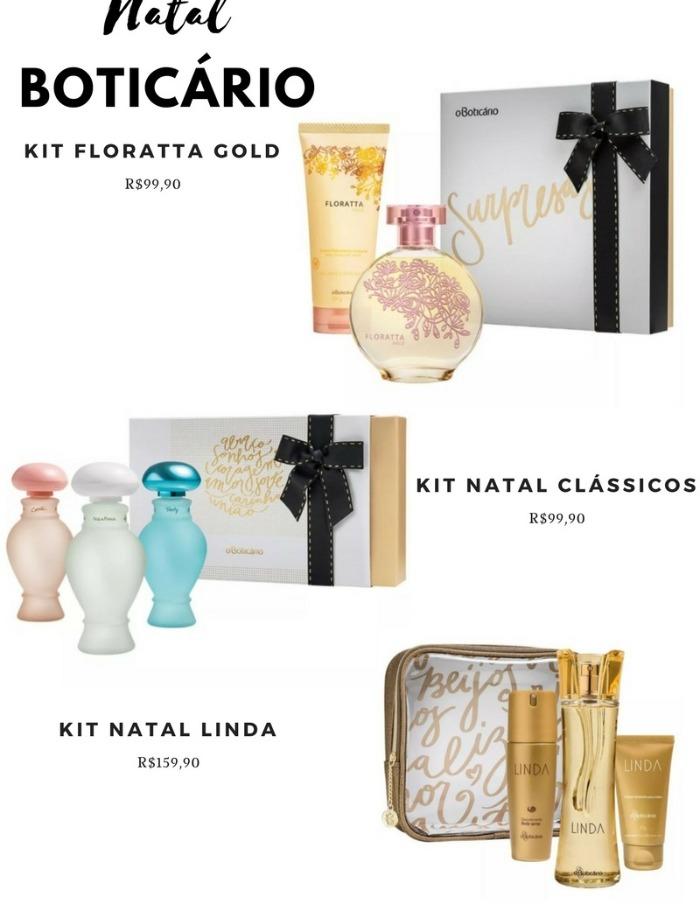 kits de natal boticário 2017
